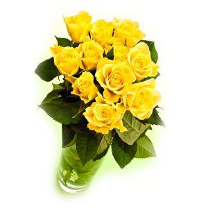 Ramo 12 rosas amarillas